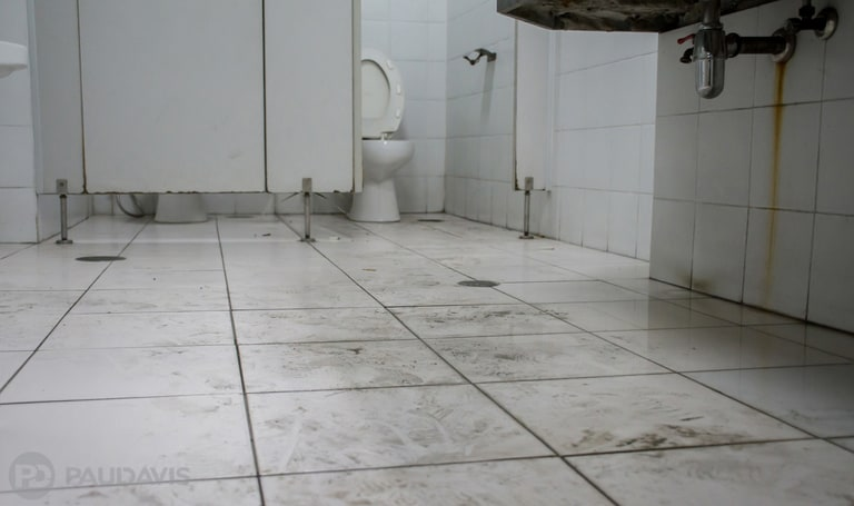 Hidden Contamination May Lurk When Sewage Water Floods Ceramic Tile Floors Paul Davis Restoration Corporate
