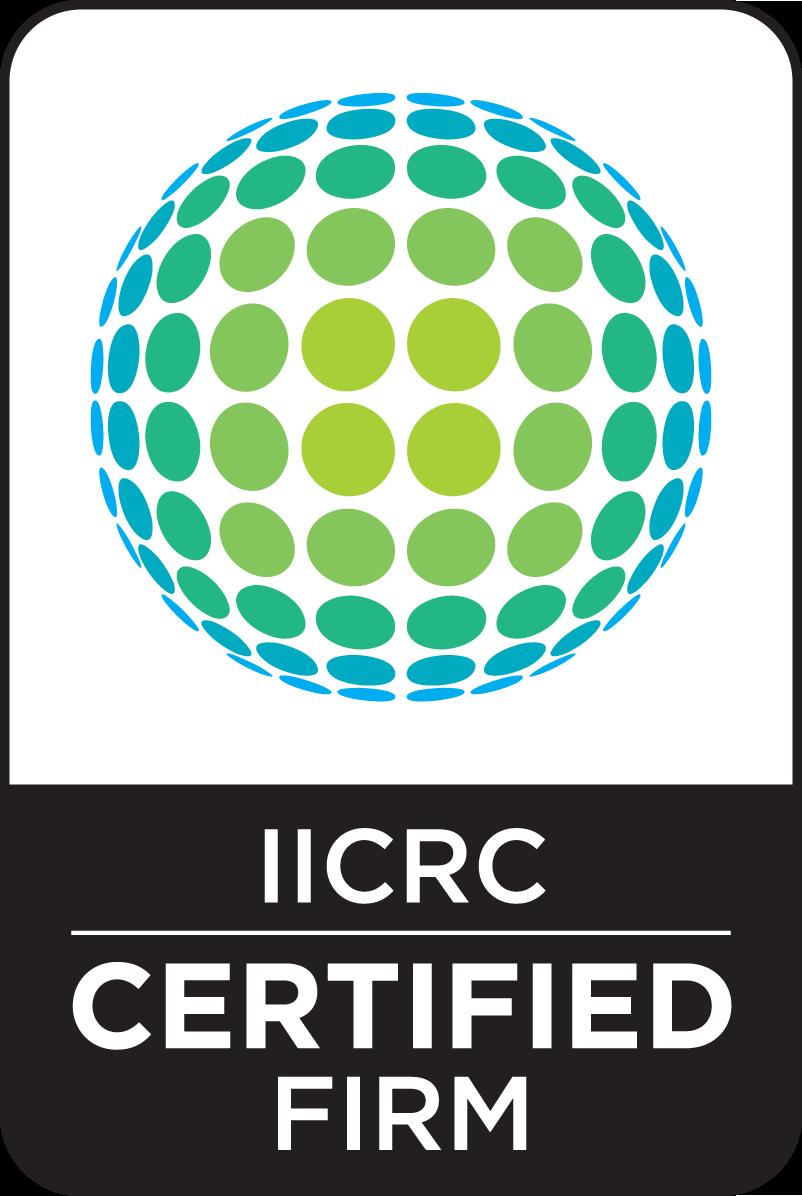 IICRC certified CMYK