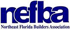 We are a member of Northeast Florida Builder's Association