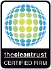 We are a Clean Trust Certified Firm