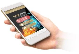 Download the Paul Davis mobile app