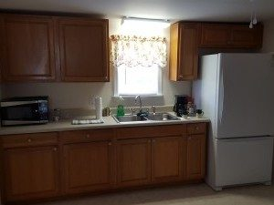 After restoration by Paul Davis it looks like this kitchen was never damaged.