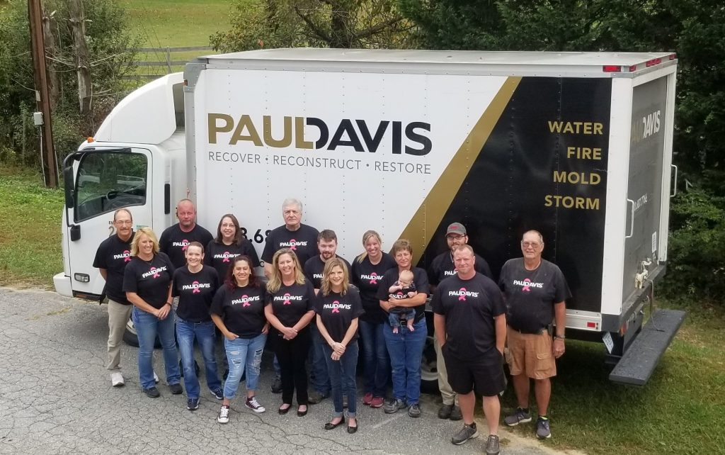 Team at Paul Davis of Greater Asheville