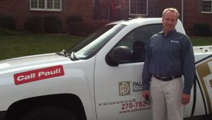John Simms, owner of Paul Davis Restoration of Bowling Green