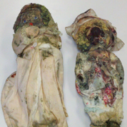 Fire Damaged historic dolls