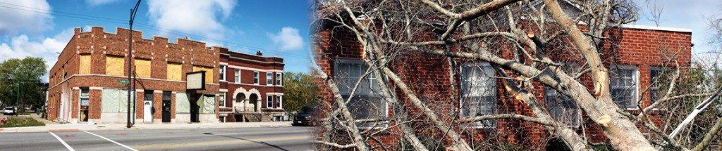repairing storm damage