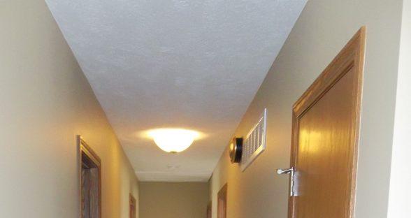 Interior hallway after restoration by Paul Davis