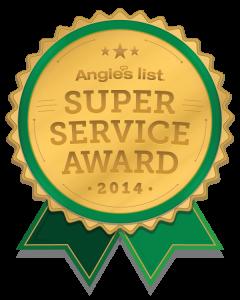 Visit us on Angie's List
