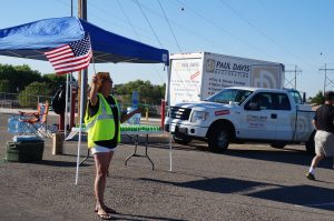 Blue Star Mothers' Remembrance Run