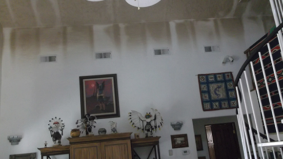 Living Room Smoke Damage - Paul Davis Restoration of New Mexico