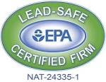 We are a Lead-safe certified firm.