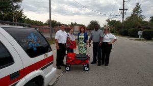 Community events like this Red Cross smoke alarm installation event are part of our community involvement.
