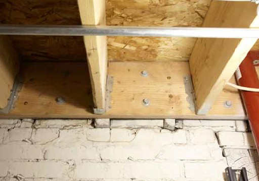 Structural Floor Joists Replaced by Paul Davis Restoration After Fire