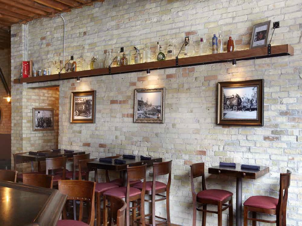 After Paul Davis Restoration & Remodel - Bourbon & Tunns Casual Dining