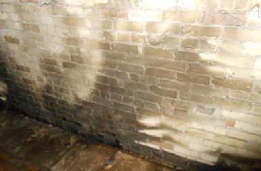 Smoke & Soot Damaged Cream City Brick in Historic Third Ward