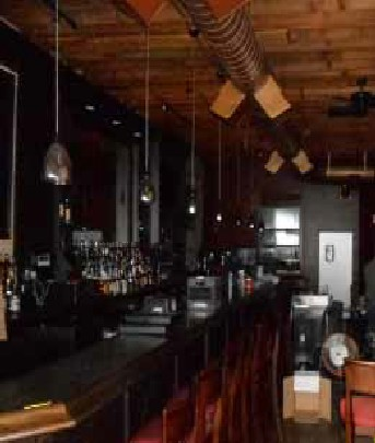 Bourbon & Tunns Tavern Bar - Before Paul Davis Restoration