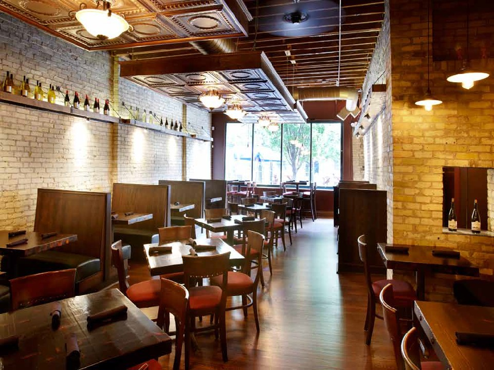 After Restoration & Remodel by Paul Davis - Bourbon & Tunns Tavern Dining Room