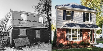 During & After Entire House Remodel - New Addition - Paul Davis WI