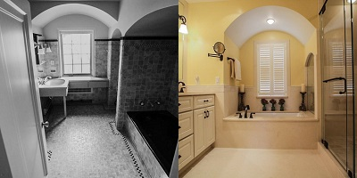 Fox Point Bathroom Before & After Remodel - Paul Davis WI