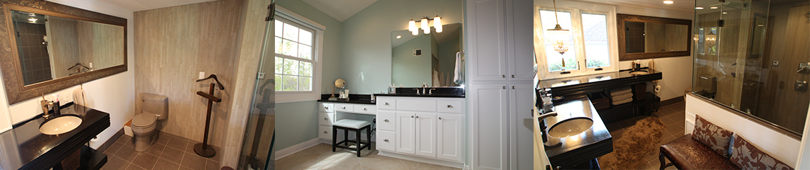 Bathroom remodeling services by Paul Davis