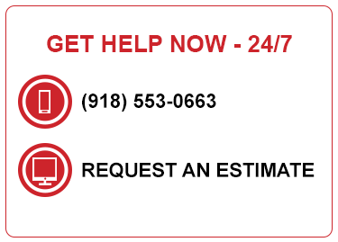 Request an estimate on services from Paul Davis Restoration of Tulsa