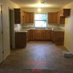 Kitchen after repairs.